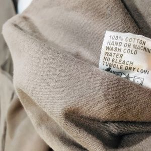 James Perse Tops - JAMES PERSE Raw Hem V-Neck Long Sleeve Shirt Top 2